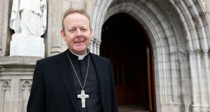 Eamon Martin said the Church would call on politicians not to leave their Catholic faith outside of the door when it came to issues of public policy. Photograph: Eric Luke / The Irish Times