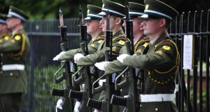 A support group for soldiers had previously said the Defence Forces has not been screening military personnel properly before prescribing the controversial drug Lariam. Photograph: Aidan Crawley/The Irish Times