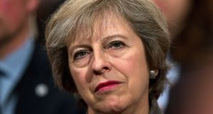 "Theresa May: To date, her only substantive insight into the course her government and the UK is embarked on is ""Brexit means Brexit"". Photograph: Matt Cardy/Getty Images"