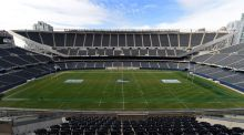 Soldier Field in Chicago, where Ireland will take on the ALl Blacks. Photograph: Andrew Cornaga/Photosport/Inpho