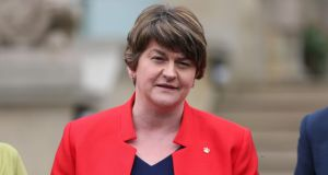 "Northern Ireland First Minister and DUP leader Arlene Foster  will not attend the all-island Civic Dialogue on Brexit. ""It's not a question of boycotting, I'll just not be going and I made that clear right from the very start,"" she said. File photograph: Liam McBurney/PA Wire"