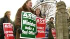 ASTI members are currently balloting on proposals for industrial action over the issue of pay for recently-recruited teachers and the salary cuts of recent years.