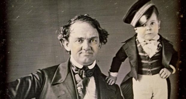 c94c9044beb PT Barnum with General Tom Thumb. Photograph  Universal History Archive   Getty Images