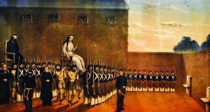 Revolutionary lives: the execution of Maria Camila O'Gorman, who was 20, and eight months pregnant, when, in Argentina in August 1848, she was executed with her lover, Fr Ladislao Gutiérrez