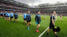 Stephen Cluxton: one of the 11 players nominated from back-to-back All-Ireland champions Dublin. Photograph: Ryan Byrne/Inpho
