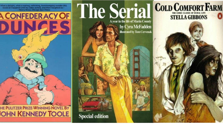 Irish comedians' favourite funny novels