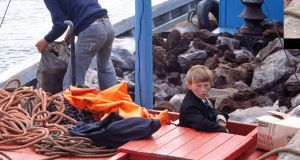 Looking Back by Eric Luke: Bringing turf from the mainland onto Tory Island in 1977