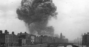 """On June 30th, 1922, the Civil War combatants destroyed a thousand years of documents, tracing the history of Ireland and its people, in one huge, cataclysmic explosion."""