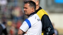 Speculation is mounting that Davy Fitzgerald is poised to succeed Liam Dunne as manager of the Wexford senior hurling team. Photo: Inpho