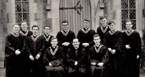 History class, from Maynooth's class of 1966