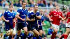 Leinster's Johnny Sexton and Robbie Henshaw were in fine form against Munster. Photograph: James Crombie/Inpho