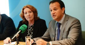 The file on mental health spending reveals huge tensions between Mr Varadkar and Ms Lynch over the issue, both before and after last year's budget. File photograph: Cyril Byrne/The Irish Times
