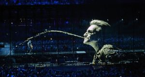 U2 perform at the 3 Arena. The Live Nation-controls the companies that run the venue saw profits rise 75 per cent. Photograph: Eric Luke