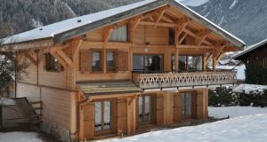 Chalet Delphine, where excellent breakfasts and dinners are laid on for guests.