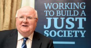14/10/2015 - NEWS - Politics  Social Justice Ireland   Dr Sean Healy, Director, at the presentation of the Social Justice Ireland  Analysis and Critique of Budget 2016. Photograph: Eric Luke / The Irish Times