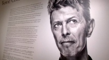 David Bowie's private art collection previewed ahead of sale