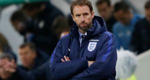 The English Football Association is increasingly open to the idea of Gareth Southgate taking the England job on a full-time basis despite the 2018 World Cup qualifier two disappointing performances so far in his brief period as caretaker manager. Photo: Carl Recine/Reuters