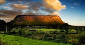 """The mist sweeping over bare Ben Bulben's head is easily taken for the mystical. But the traditional Irish hunger for the land wasn't for its beauty."" Photograph: Slow Images"