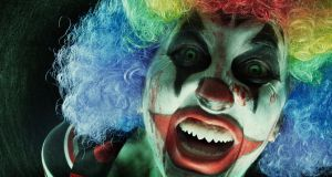 "Coulrophobia is defined as an ""irrational fear of clowns"". Irrational m'arse."