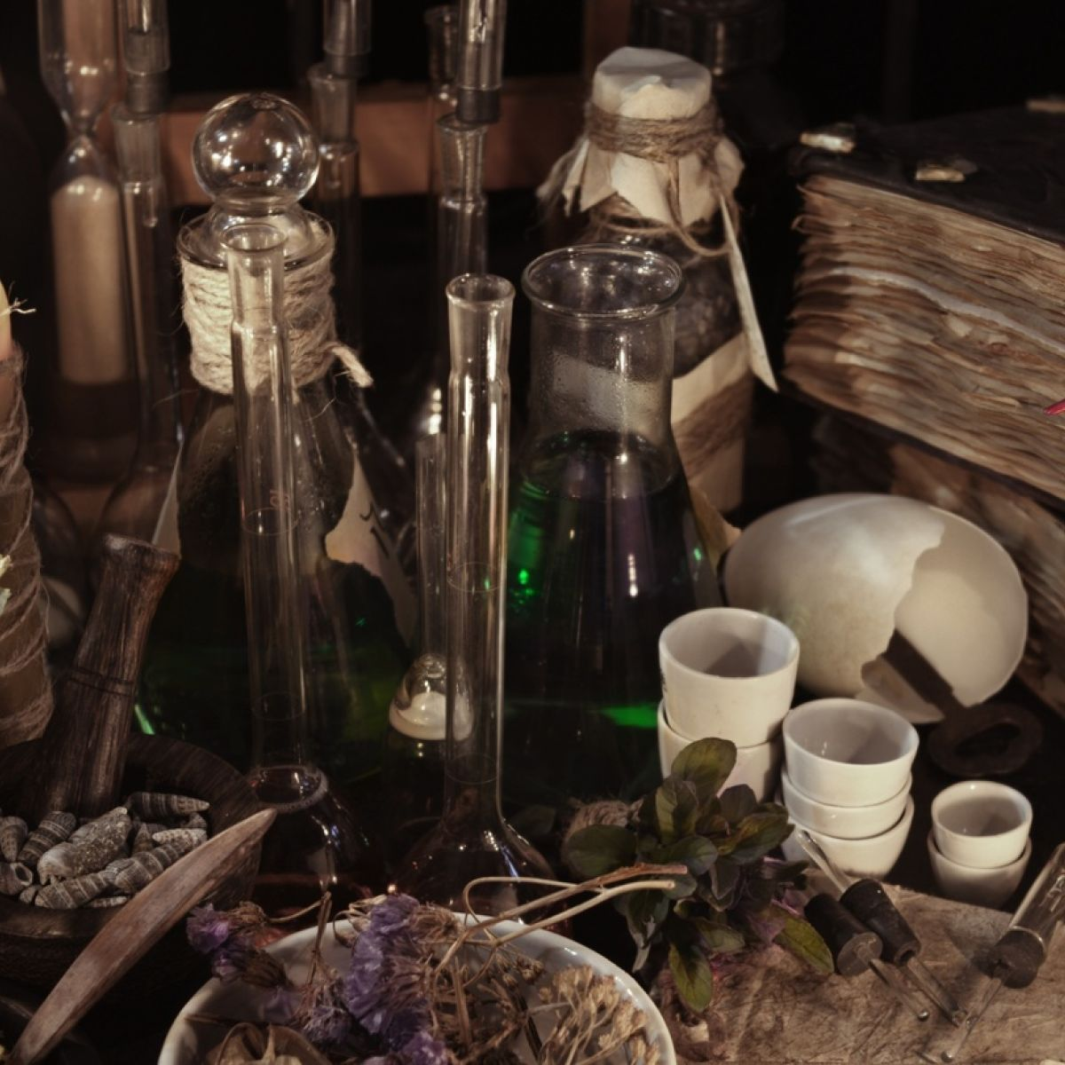 Is herbalism another form of magic?