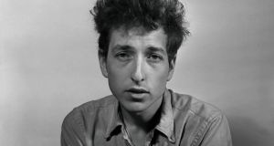 Bob Dylan in New York in 1963. Photograph: William C Eckenberg/The New York Times