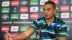 Connacht Rugby Head Coach Pat Lam at a press conference ahead of his side's Champions Cup clash with Toulouse. Photo: Morgan Treacy/Inpho