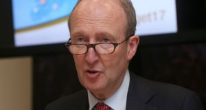 Independent Minister Shane Ross has told the Taoiseach he will not assent to the appointment of any more judges until new legislation governing judicial appointments is passed. Photograph: Laura Hutton/Collins Photo Agency