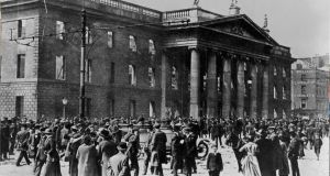 Crowds outside the GPO in Dublin in the aftermath of the Easter Rising. The details of the national conference on the 1916 Easter Rising have been announced. File photograph: Alan Betson/The Irish Times