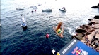 Cliff Diving championship takes place in Japan