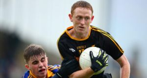 Colm Cooper was named man of the match as Dr. Crokes reclaimed the Kerry SFC crown. Photograph: Inpho