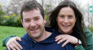 Anthony Foley with his sister Rosie who also represented Ireland. Photo: Marie McCallan/Press 22