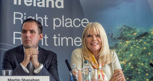 ac497871817e9 IDA chief executive Martin Shanahan and Minister for Jobs Mary Mitchell O  Connor. The Minister
