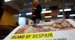 Island Of Despair Australia S Processing Of People On Nauru