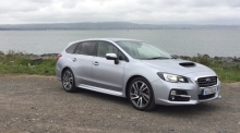 Our Test Drive: the Subaru Levorg