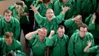 Special Olympics competitors at Dublin Airport in July 2015, getting set to  leave for the world summer games in Los Angeles. File photograph: Cyril Byrne/The Irish Times