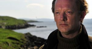 Douglas Henshall as Detective Inspector Jimmy Perez in BBC TV's adaptation of Shetland by Ann Cleeves.