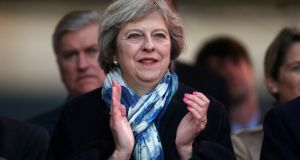 British prime minister Theresa May: her government  may now want to maintain single market access for certain sectors. Photograph: Danny Lawson/PA Wire