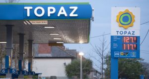 The company behind the Topaz fuel and convenience store chain is suing a Dublin-registered company for €4.7m over alleged failure to complete a share purchase agreement. Photograph: Dave Meehan