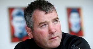 Anthony Foley, the late Munster rugby head coach, died of acute pulmonary oedema caused by heart disease, the French coroner's report issued on Tuesday concluded. Photograph: INPHO/James Crombie.