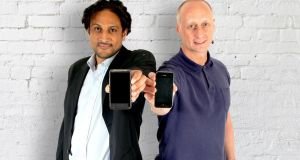 Mobads founder Kieran O'Keeffe, right: based in London, the company launched in October 2006 and has MobileWebAdz, Reporo, and BuzzCity as its brands