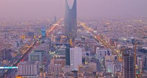 A general view of the Saudi Arabian capital Riyadh. A member of the  kingdom's  royal family has been executed  for the first time in decades after being convicted of shooting another man during a brawl. Photograph: iStock.