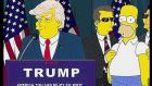 Donald Trump even featured in The Simpsons as a presidential candidate – years before it actually happened.