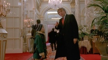 Donald Trump and his scene stealing cameos