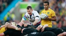 Nigel Owens in action during last year's Rugby World Cup final. Photograph: Getty