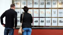 Even with a maximum rebate, a couple buying a €400,000 home will need to find €38,000 for their deposit. Photograph: Peter Byrne/PA Wire