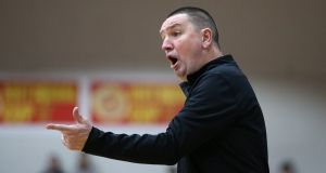 "Ambassador UCC Glanmire coach Mark Scannell: ""Celtics are going well and have some very good players so we're under no illusions."" Photograph: Cathal Noonan/Inpho"