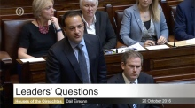 Leo Varadkar takes Leaders' Questions