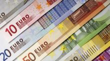 The euro dropped 0.4 per cent to $1.088 this morning, the weakest level since March 10th. Photograph: iStock