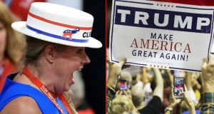 The average household income of a Trump voter in the primaries was about $72,000. Photographs: Getty Images