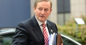 "Enda Kenny: ""No other state-aid cases have been opened against Ireland arising from the information submitted to the commission, nor have we any indication that there are any other cases under consideration."" Photograph: Thierry Charlier/AFP/Getty"